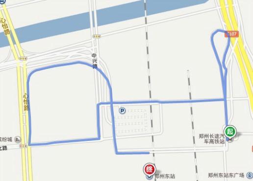 郑州新东站车站_自己开车从郑州高铁站到郑州新东站怎么走