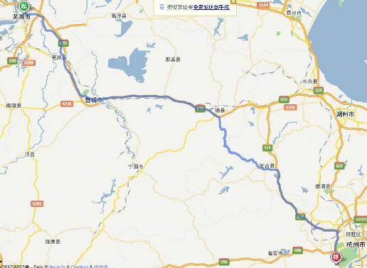 芜湖到 浙江省杭州市西湖区转塘镇龙坞茶村许家埭怎么去图片