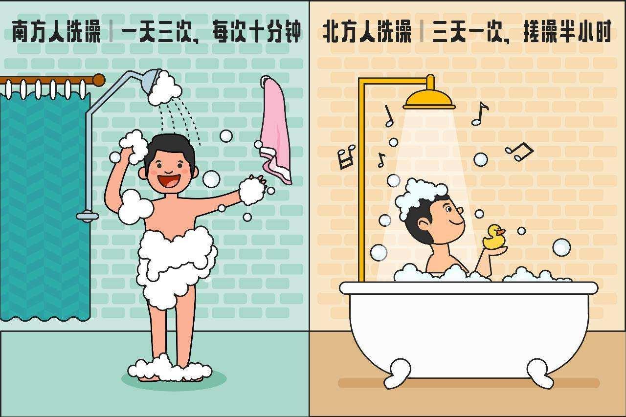 南方差异丨南方人洗澡为什么不搓泥?