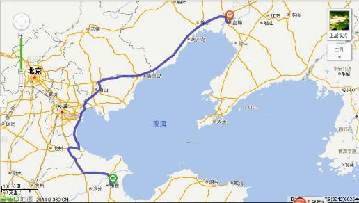 从山东东营到辽宁盘锦高铁火车或汽车怎么走
