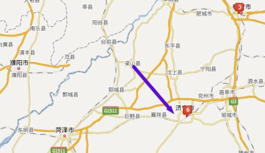 济宁梁山县最近哪个机场