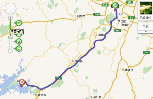 杭州到千岛湖洲际酒店怎么走