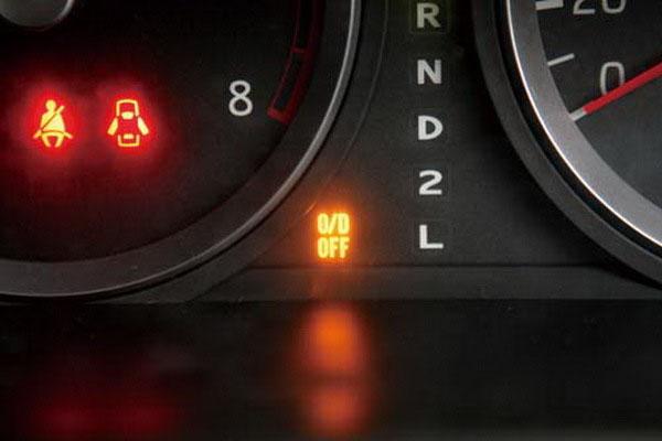 自动挡汽车档位上的字母都代表啥意思?