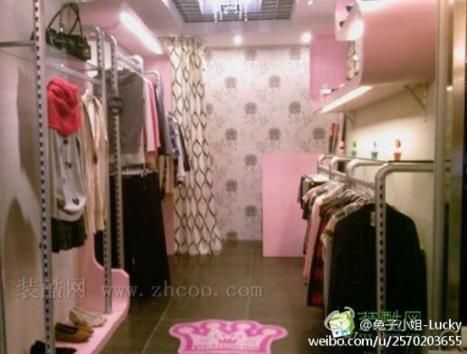 【个性服装店装修】10平米个性服装店如何装修?(附图)