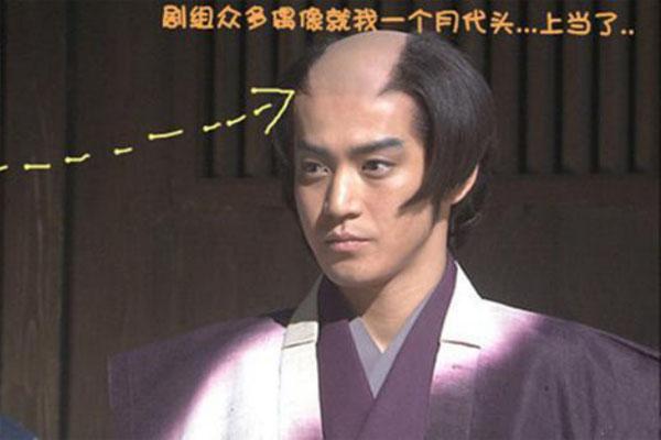 古代日本武士为什么要留月代头?