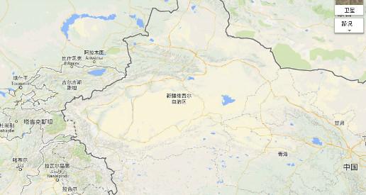 新疆风景区地图全图