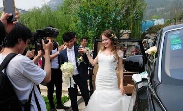 济南土豪迎娶俄罗斯新娘