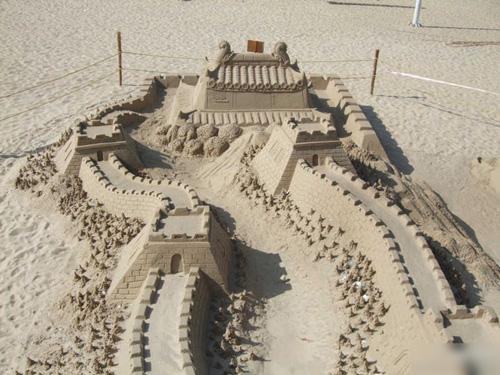 如果有创意是不是都能把沙子玩成这样?