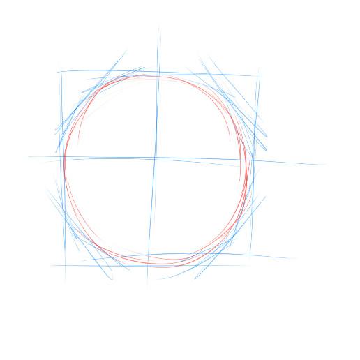 一个正方形里有个圆形圆能画什么