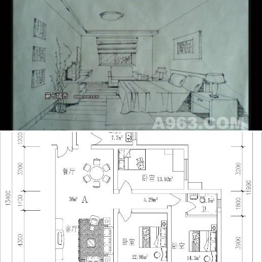 要具备基础的透视原理和对房屋内物品透视画法的基本