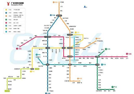 从广州东圃到香江野生动物园做地铁哪号线?