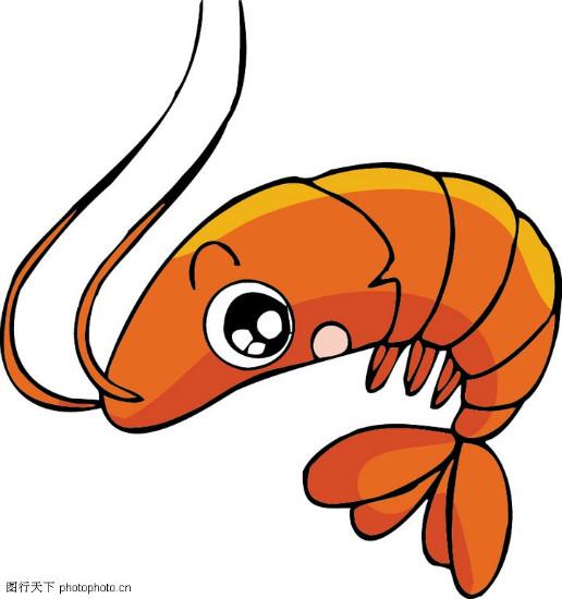 请问简单,可爱的虾怎么画?