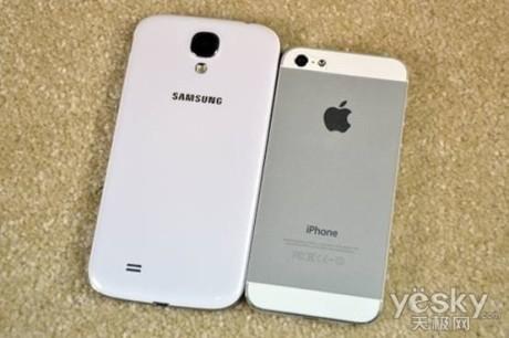 苹果5与三星s4�:/�_三星s4 苹果5 买哪好 点赞投票