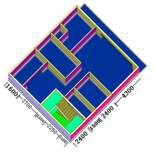 房子结构设计合理吗?请专业人士指点.