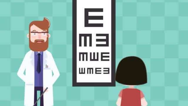 """为什么视力表上面的字母用""""E""""?"""