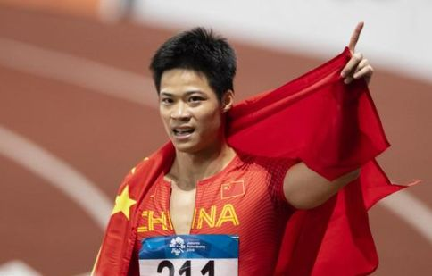 亚运会男子100米:韩国金国荣10秒26第八名,苏炳添9秒92第一