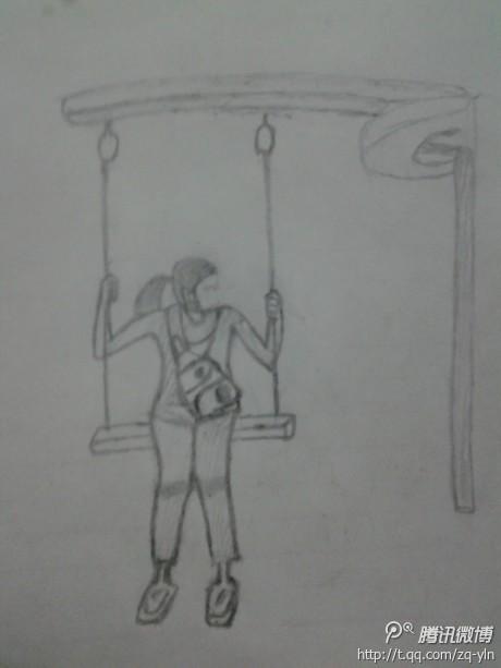 简笔画 手绘 素描 线稿 460_613 竖版 竖屏