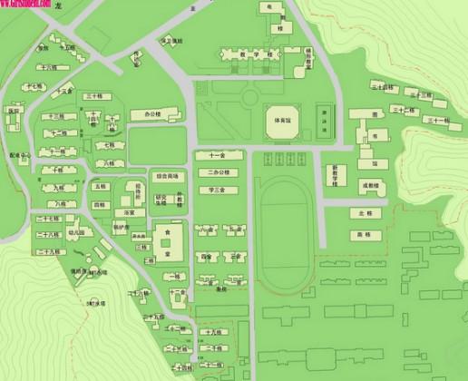湖南大学#校园地图