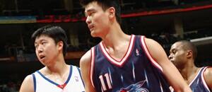历史上进入NBA的中国球员