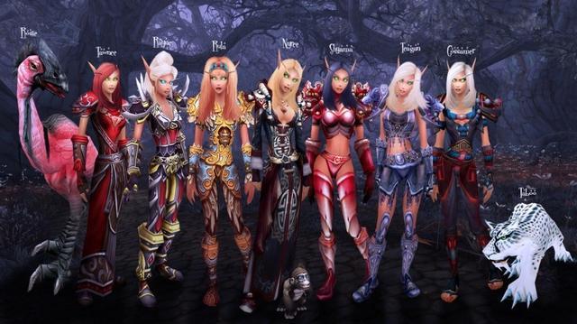 为什么在网游里男性玩家喜欢选择女性角色?