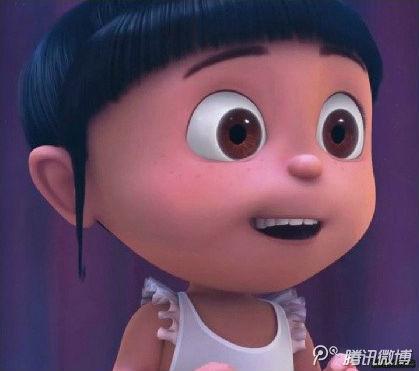 谁能告诉我这个可爱的小女孩叫什么,出现在哪个