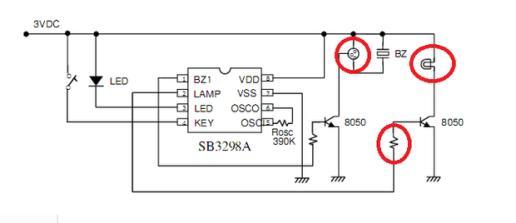 电路图红色圈里的符号是什么意思?如图如图,那三个画?